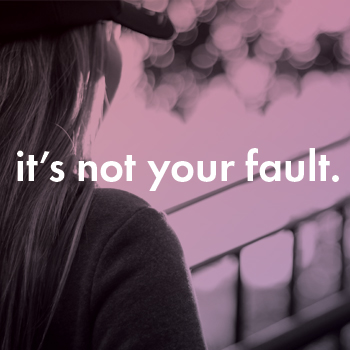 girl in a hat with long hair looking off into the distance with the words